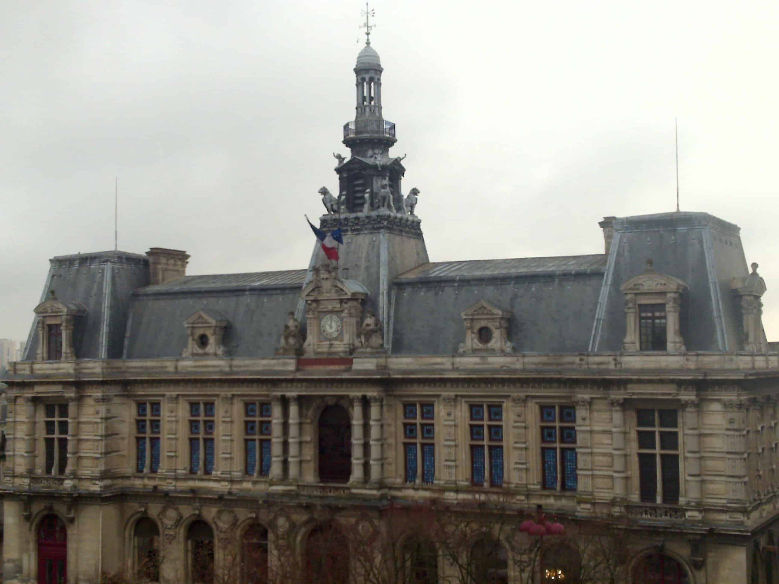 Poitiers Town Hall: How Civilised For The Civil Servants