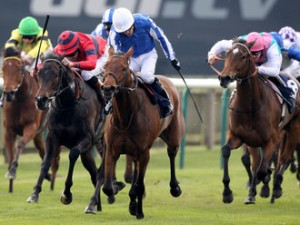 Music Show won Falmouth Stakes