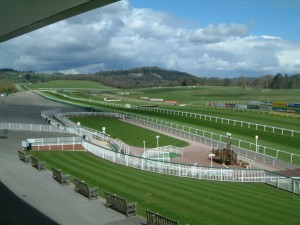 Chepstow racecourse: home of the Welsh National