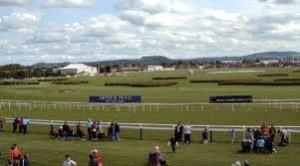 Racing at Hereford