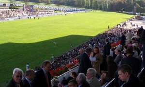 Longchamp's grandstand comes down after Arc 2015