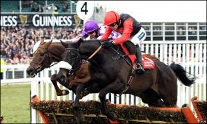 Big Buck's bids to emulate Quevega's hat-trick in the World Hurdle 2011