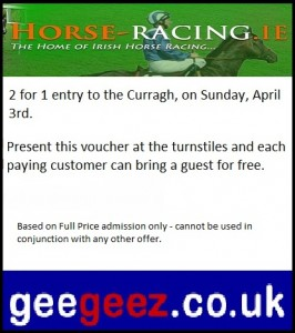 Curragh 2-for-1 voucher - click to open in a new window and print