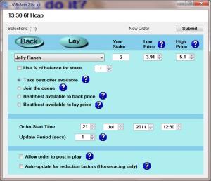 Bet Scheduler software