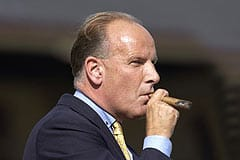 Will Sir Mark be lighting another cigar after Lingfield's 5pm race on Wednesday?