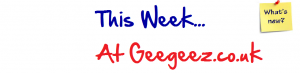 This Week at Geegeez...