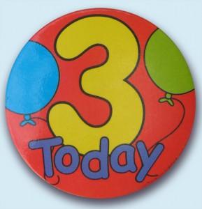 Happy Birthday Geegeez: Three Today