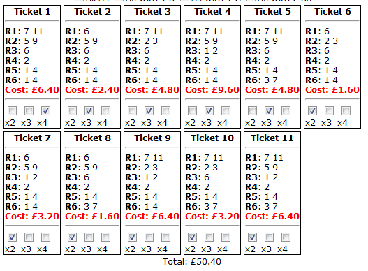Newbury's Friday placepot tickets