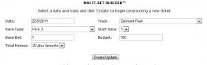 Multi-Bet Builder