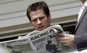 Michael Owen is racing's top tweeter