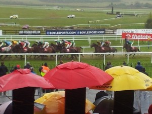 Punchestown in the rain