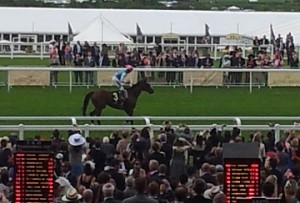 Franke after winning at Royal Ascot 2012