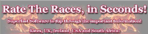 Rate The Races System Review