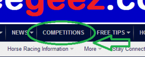 The Competitions tab!