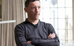 Dettori - pensive in Channel 4 interview