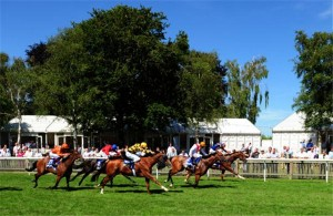 They race on the Newmarket July course