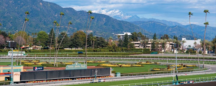 Santa Anita: a beautiful setting