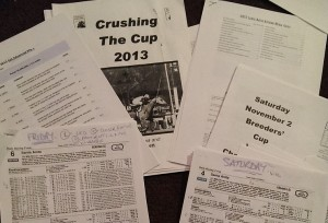 Some light reading for Breeders Cup 2013...