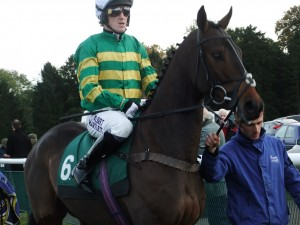 AP McCoy aboard his 4000th winner, Mountain Tunes