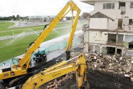 Old Arkle Stand demolished