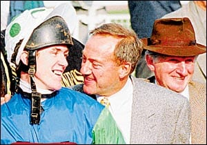 AP McCoy with Pipe and Johnson in the old days