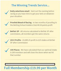 Winning Trends