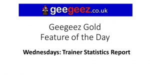 `Feature of the Day: Trainer Stats report