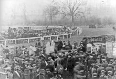 Raceday 1909 (courtesy Moreton-in-Marsh local history group)