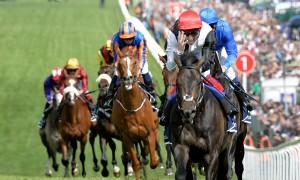 Golden Horn wins The Derby