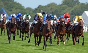 Muhaarar wins at Royal Ascot