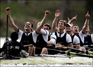 Cambridge win on water