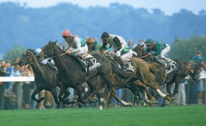 Eddery and Dancing Brave