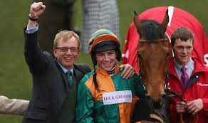 Greatrex with World Hurdle winner Cole Harden