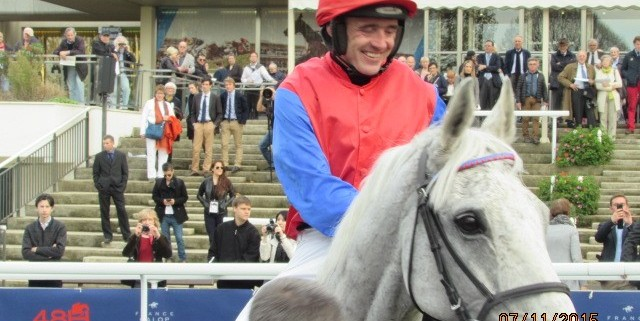 Thousand Stars (Ruby Walsh) after winning the Prix d'Automne