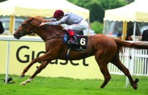 Galileo Gold wins at Royal Ascot. Sectional times tell us how good a performance this was.