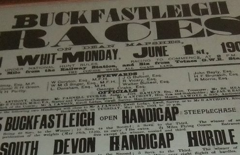 Buckfastlleigh used to race twice a year