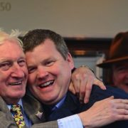Gordon Elliott just failed to wrest the trainers' title from Willie Mullins Photo: Healy Racing