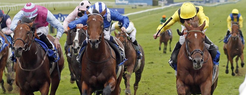Lincoln Preview: there should not be much between ADDEYBB (right, Ryan Moore), who beats AFAAK (centre) and FIRE BRIGADE (left) in The Shadwell Farm Handicap Newmarket 29 Sep 2017 - Pic Steven Cargill / Racingfotos.com