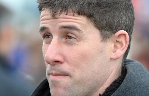 "Race horse trainer HENRY OLIVER. ""RACINGFOTOS.COM"""