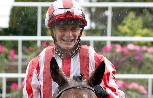 INTENSE ROMANCE (Callum Rodriguez) after The Duke Of Edinburgh's Award Rous Stakes Ascot 6 Oct 2018 - Pic Steven Cargill / Racingfotos.com