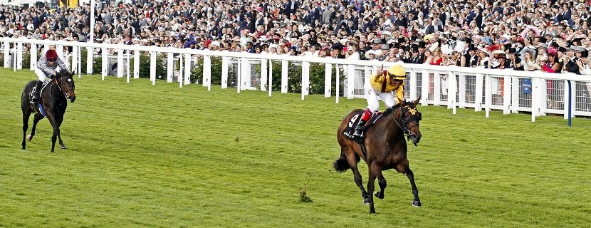 LADY AURELIA (Frankie Dettori) makes all to win The Queen Mary Stakes Royal Ascot 15 Jun 2016 - Pic Steven Cargill / Racingfotos.com
