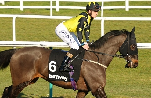 PACTOLUS ridden by Callum Rodriguez in The Betway Winter Derby Stakes (Group 3) at Lingfield 23/2/19 Photo Ian Headington / Racingfotos.com