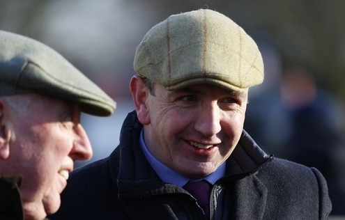 Fergal O'Brien. Pic Steve Davies/Racingfotos.com
