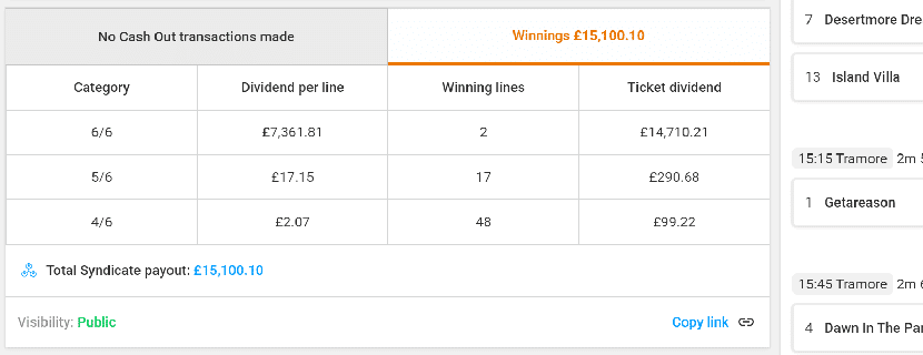 Winning at multi-race betting part 2