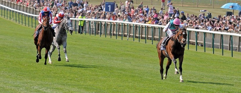 30.04.2011, Newmarket, Rowley Mile, GB, Frankel with Tom Queally up wins the 2000 Guineas. Photo FRANK SORGE/Racingfotos.com